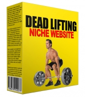 Dead Lifting Niche Website Private Label Rights