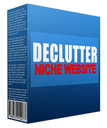 Declutter Flipping Niche Site