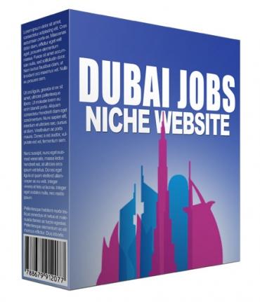 Dubai Jobs Flipping Niche Site