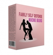 Family Self Defense Flipping Niche Site Private Label Rights
