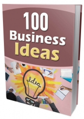 100 Business Ideas Private Label Rights
