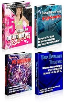 4 Private Label eBook Pack