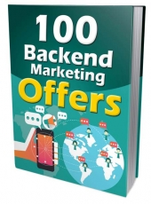 100 Backend Marketing Offers Private Label Rights
