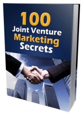 100 Joint Venture Marketing Secrets Private Label Rights
