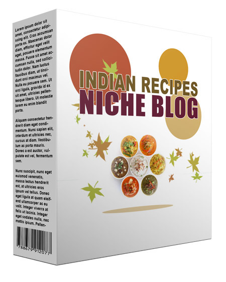 Indian Recipes Flipping Niche Blog