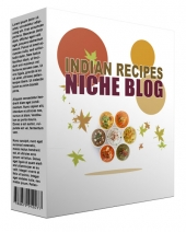 Indian Recipes Flipping Niche Blog Private Label Rights