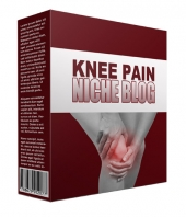 New Knee Pain Flipping Niche Blog Private Label Rights
