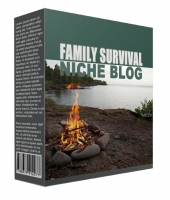 New Family Survival Flipping Niche Blog Private Label Rights