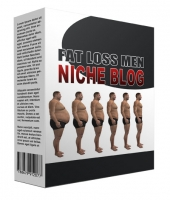 New Fat Loss for Men Flipping Niche Blog Private Label Rights