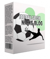 Football Soccer Flipping Niche Blog Private Label Rights