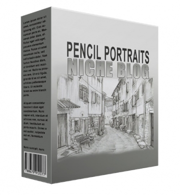 Pencil Portrait Flipping Niche Blog