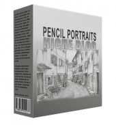 Pencil Portrait Flipping Niche Blog Private Label Rights