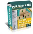 PLR Biz In A Box Private Label Rights