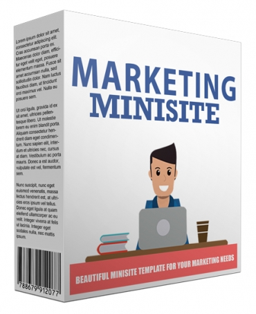 Marketing Minisite Template V42016