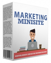 Marketing Minisite Template V42016 Private Label Rights